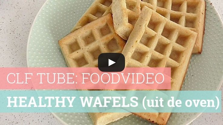 Foodvideo: Healthy wafels (uit de oven)