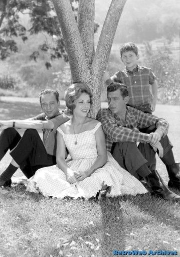 Joanna Moore as Miss Peggy on The Andy Griffith Show
