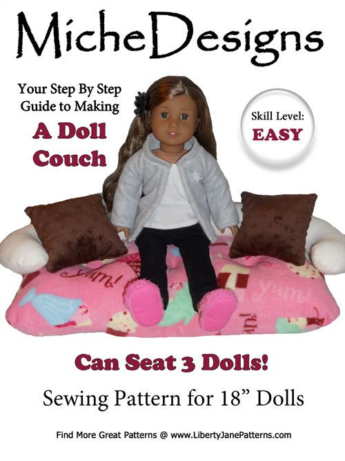 20 Best 18 Inch Doll Patterns Furniture Images On