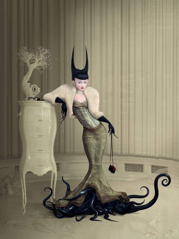 Ray Caesar - another artist that I would own most of his work if I could. I am so enamored by it.