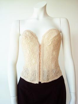 Lianga Nude Lace corset