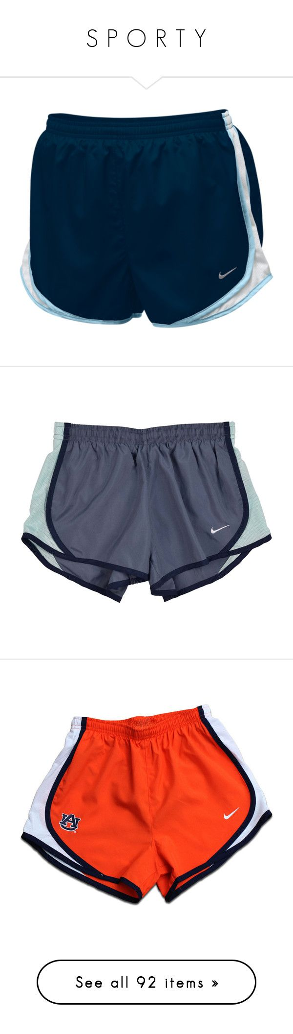"""""""S P O R T Y"""" by palemoonlight-x ❤ liked on Polyvore featuring activewear, activewear shorts, shorts, bottoms, running shorts, nike, nike sportswear, nike activewear, athletic shorts and pants"""