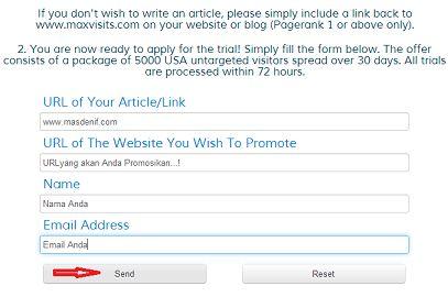 Cara Mendapatkan Visitors banyak dari Provided Visitors USA | MasDenif - Media Informasi Tekhnologi dan Aplikasi Terbaru