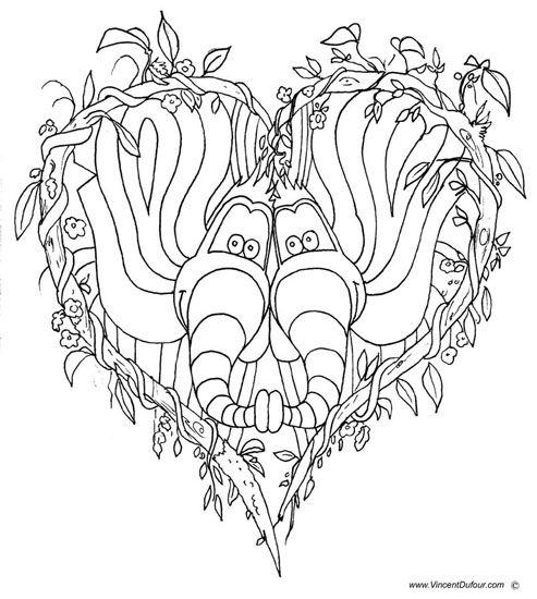 Coloriage éléphant à télécharger gratuitement au format A4 sur www.vincentdufour.com/fr/21-dessins-a-colorier-gratuits # dessin à colorier gratuit