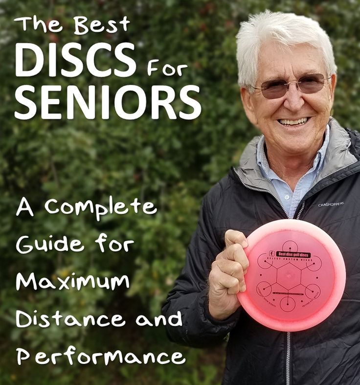 A Complete Guide to the Best Disc Golf Discs (Specifically Drivers) for seniors and older players to get maximum distance!