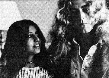 Robert Plant of Led Zeppelin with his wife Maureen #RobertPlant #LedZeppelin…