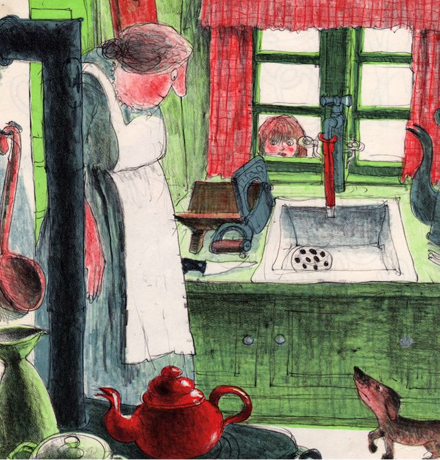 Old Mother Hubbard and Her Dog - illustrated by Ib Spang Olsen