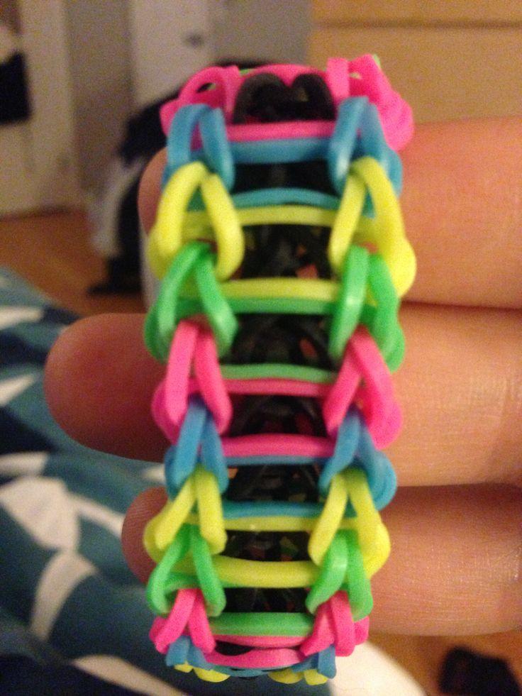 Rainbow loom ladder | Rainbow loom | Pinterest