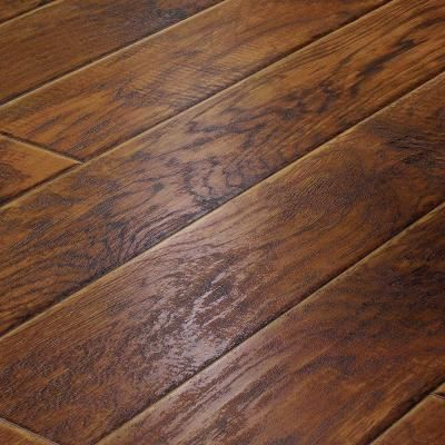 Innovations Stone Hickory 8 Mm Thick X In Wide Length Click Lock Laminate Flooring Sq Ft