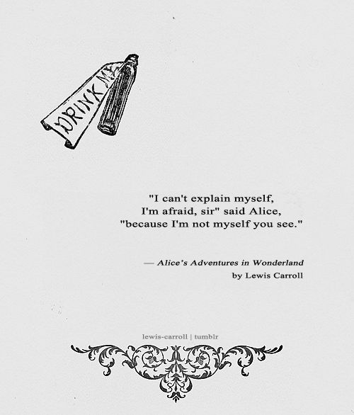 The 73 Best Alice Quotes Images On Pinterest