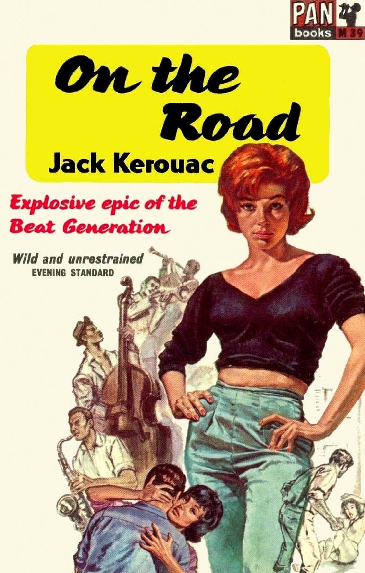 99 best on the road book covers images on pinterest jack. Black Bedroom Furniture Sets. Home Design Ideas