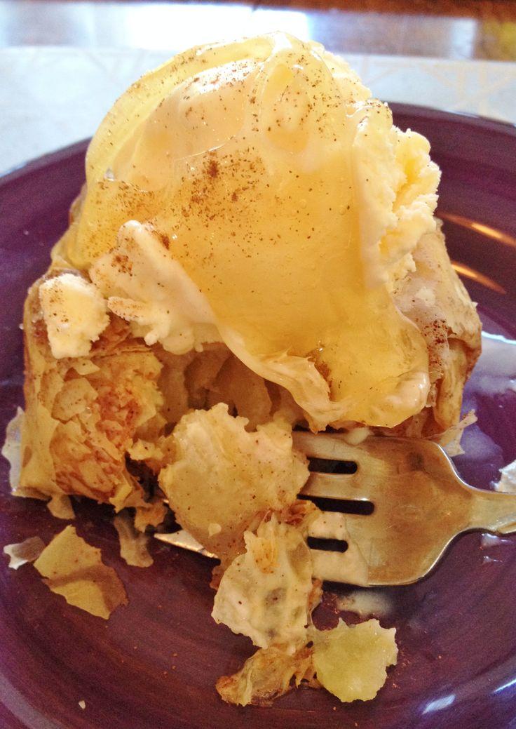 Apple Dumplings in Phyllo Dough w/ Gravenstein Drizzle ...