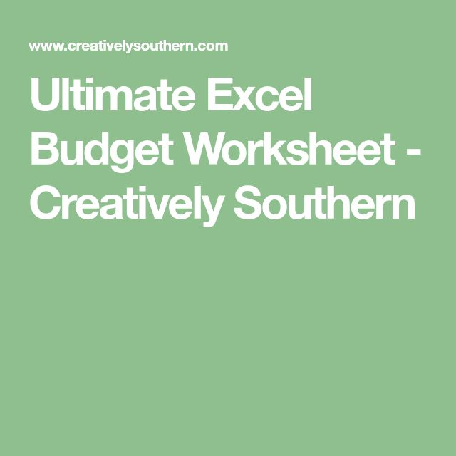 Best 25+ Excel budget ideas on Pinterest Budget spreadsheet - operating budget template