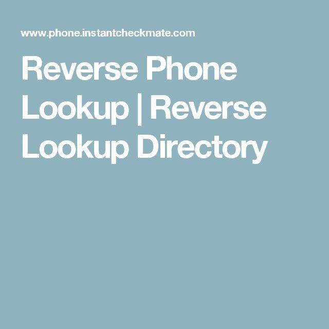Reverse Phone Lookup   Reverse Lookup Directory