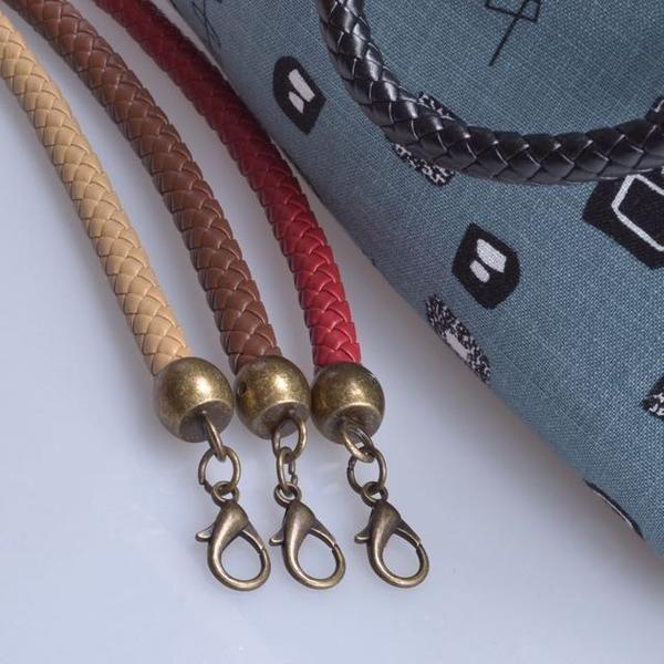 Leather Braided Bag Handles