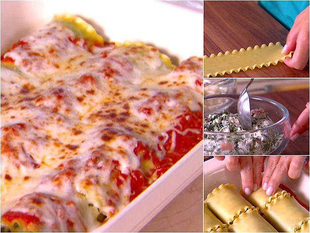 Giada Lasagna Rolls