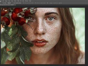 Обработка и цветокоррекция портрета в Фотошопе | Photoshop For All