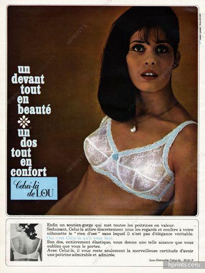 d99931d24bfc8 Lou - 1965 | Retro Underwear Adverts | Lingerie, Vintage lingerie, Fashion