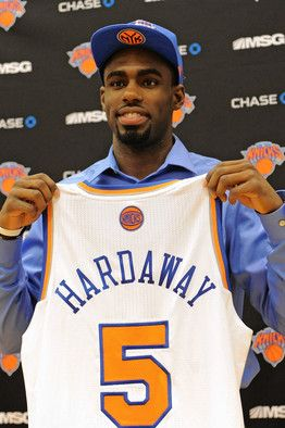 free shipping 00140 ca41b ... Anfernee overall pick for the Knicks Tim Hardaway Jr ...