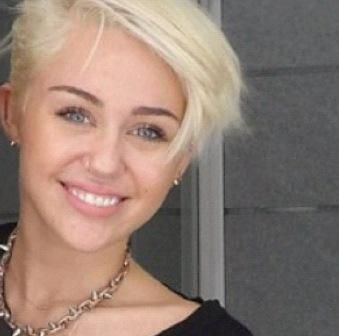 HairTalk®: Beautiful People, Beautiful Hair > Celebrity Hair Talk > Miley Cyrus buzzed pixie all done up! > Page 1