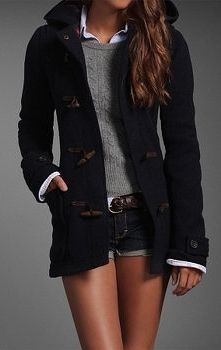 #Abercrombie & Fitch #WinterWear #Fashion Fun, fun, fun..love it, just longer shorts for me please.