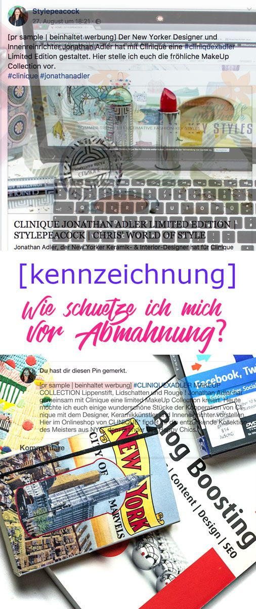 Neuer Blogpost für Blogger & Leser! Kennzeichnung von Beiträgen? Was ist bei Kooperationen und PR Samples zu beachten? Wie entgehe ich einer Abmahnung und wie kennzeichne ich richtig und sinnvoll? Antworten mit einem Klick... Bloggertipps   Boggertips Blogtips   about blogging