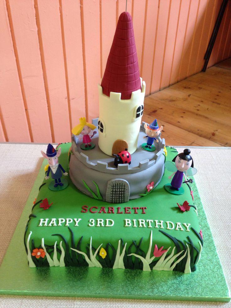 Ben & Holly 3rd Birthday Cake!