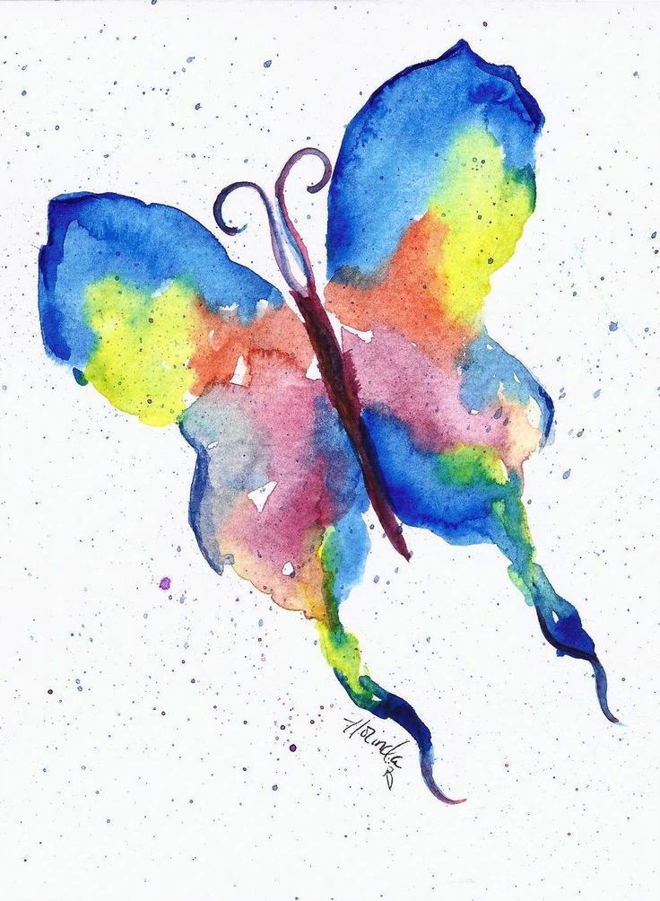 The 25 best easy watercolor paintings ideas on pinterest for How to use watercolors for beginners