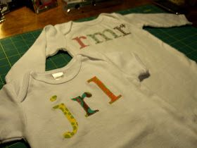High Cotton: Personalized Onesie DIY