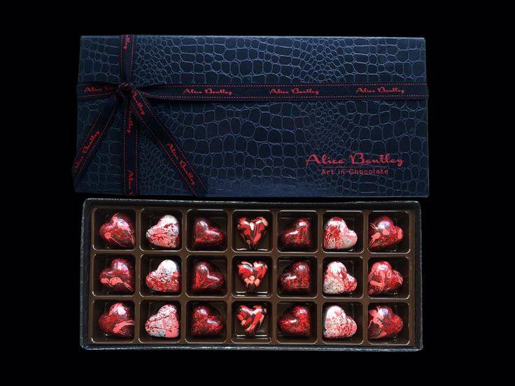 The 21 Love Box www.alicebentleychocolates.com