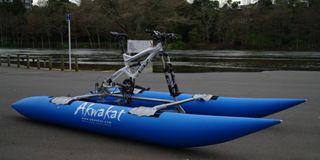 求む、冒険者! 自転車を人力ボートにコンバートする「Akwakat」