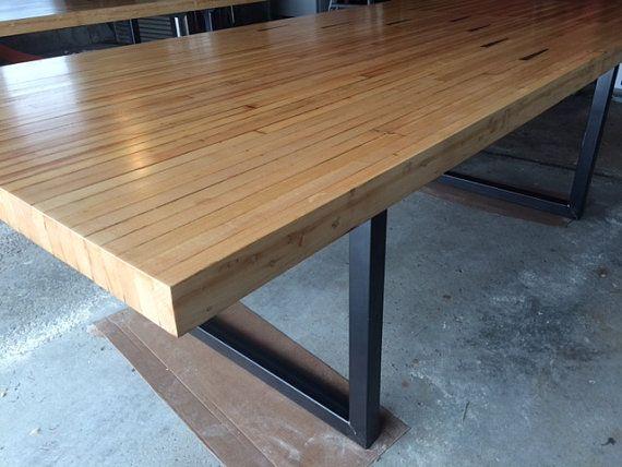 Bowling Lane Wood Tables