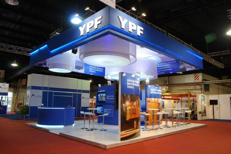 Diseño de stand para empresas – YPF Arminera – RMB design solutions