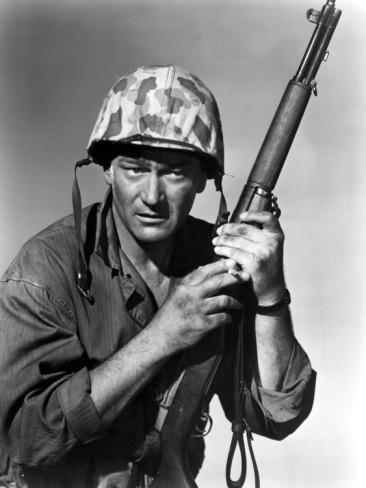Sands Of Iwo Jima, John Wayne, 1949 Premium Poster