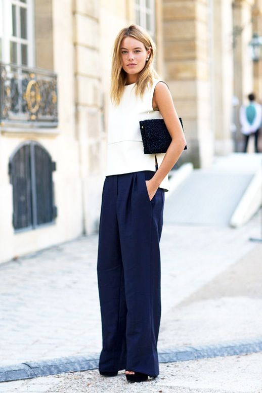 Copy Camille Rowe's Minimal Cool Summer Office Style | Le Fashion | Bloglovin'