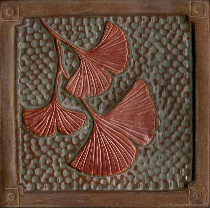 Fay Jones Day Tiles - Ginkgos