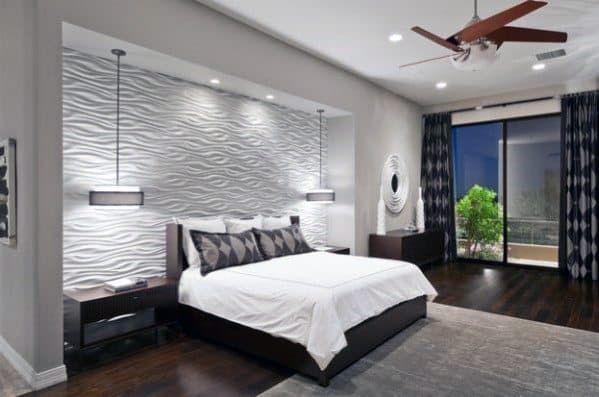 Top 70 Best Bedroom Lighting Ideas Light Fixture Designs In 2020 Master Bedrooms Decor Modern Bedroom Design Bedroom Wallpaper Beige