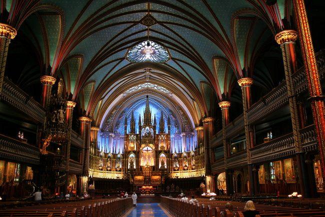 Montreal Notre Dame Basilica