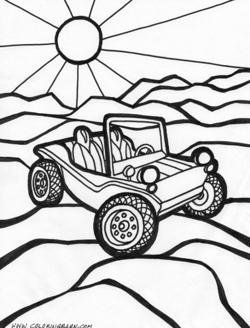 Dunebuggycoloringpages Places