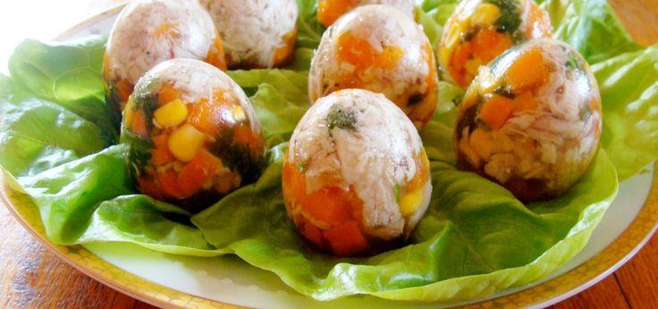 Wielkanocne jajka-galaretki - main