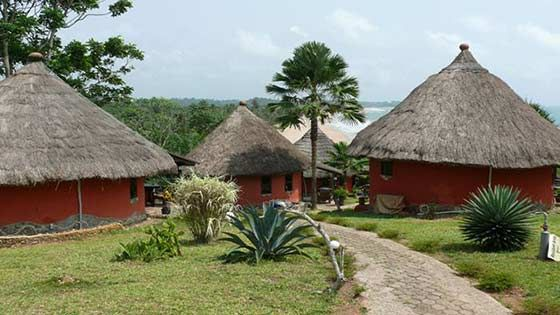 The beaches around Axim in Ghana are pristine and uncrowded, and you have great accommodation options. Check out this guide to Axim Beach, Ghana.