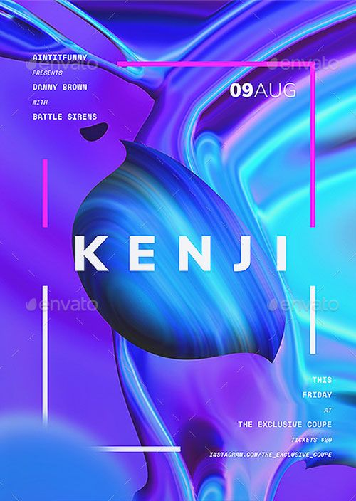 Kenji Poster and Flyer Template – ffflyer.com/… Enjoy downloading the Kenji Po…