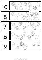 Werkblad cijfers tm 10