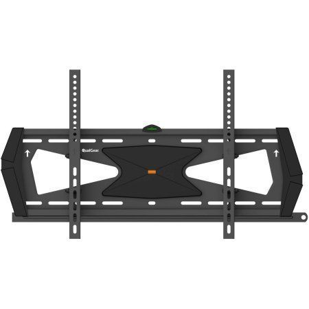 QualGear Heavy-Duty Tilting TV Wall Mount for Most 37 inch-70 inch Flat Panel and Curved TVs, Black
