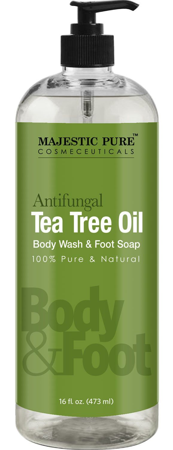 Anti fungal Tea Tree Oil Soap - Body Wash 16 fl. oz