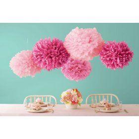 Martha Stewart Crafts Pom Poms, Pink $17.65