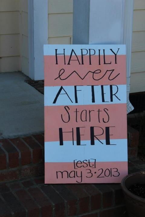 Wedding sign Maybe addy could do something like this on a chalkboard with our names and dates