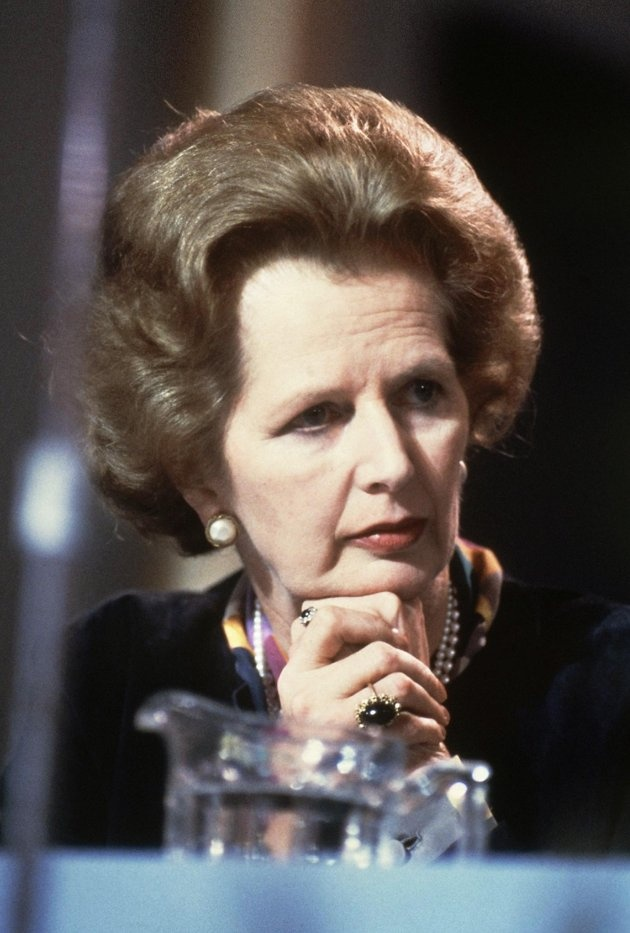 British Prime Minister Margaret Thatcher, 1981.  The original and only Iron Lady.  Such a fan!