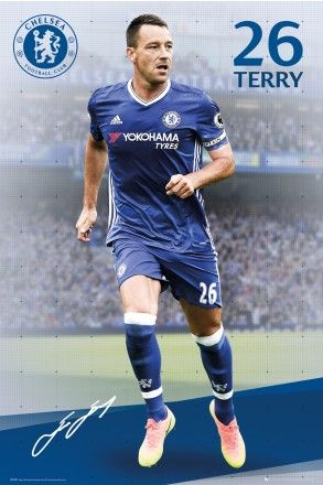 Chelsea Terry 16/17 Maxi Poster