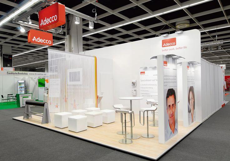 Der Personaldienstleister zeigte sich mit seinem Messestand auf der Recruiting Messe Zukunft Personal in Köln. Ihre Vorteile und Branchenvielfalt präsentierte Adecco erfolgreich in Zusammenarbeit mit Blickfang Messebau.